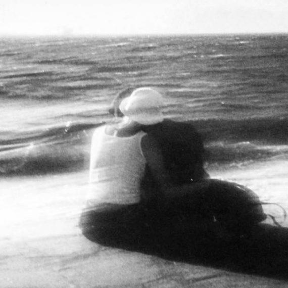 a couple in love, Mykonos island (2002)