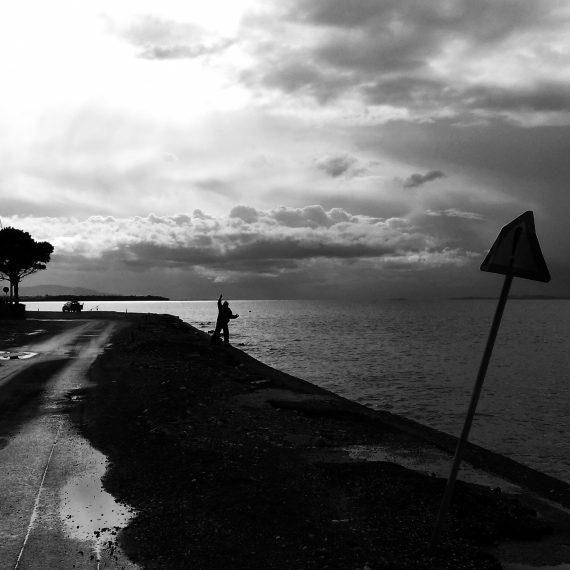 Fisherman, Patras Rio-Antirio (2016)